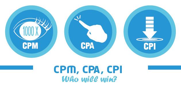 CPA, CPM, CPI – đâu là giải pháp tốt nhất trong quảng cáo đi dộng