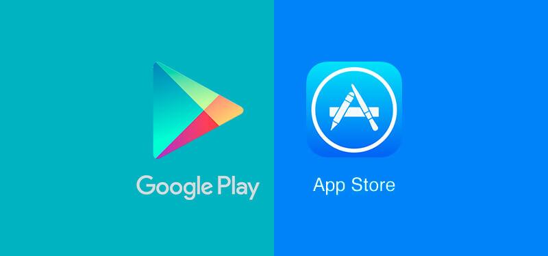 Goolge Play Store vượt mặt App Store về lượt tải ứng dụng nhưng vẫn thua kém về doanh thu