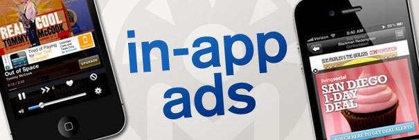 Quảng cáo trong ứng dụng sẽ là tương lai của ngành quảng cáo di động.