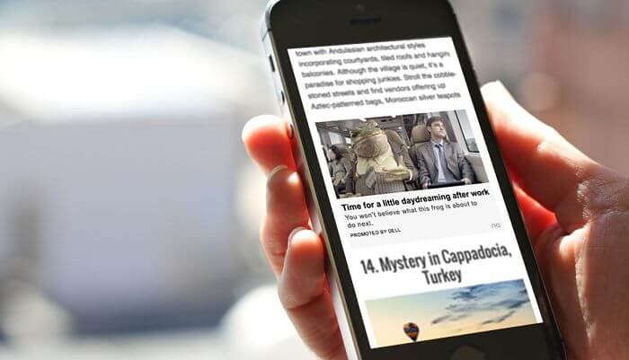 Xu hướng quảng cáo số: Native ads sẽ là tương lai của ngành
